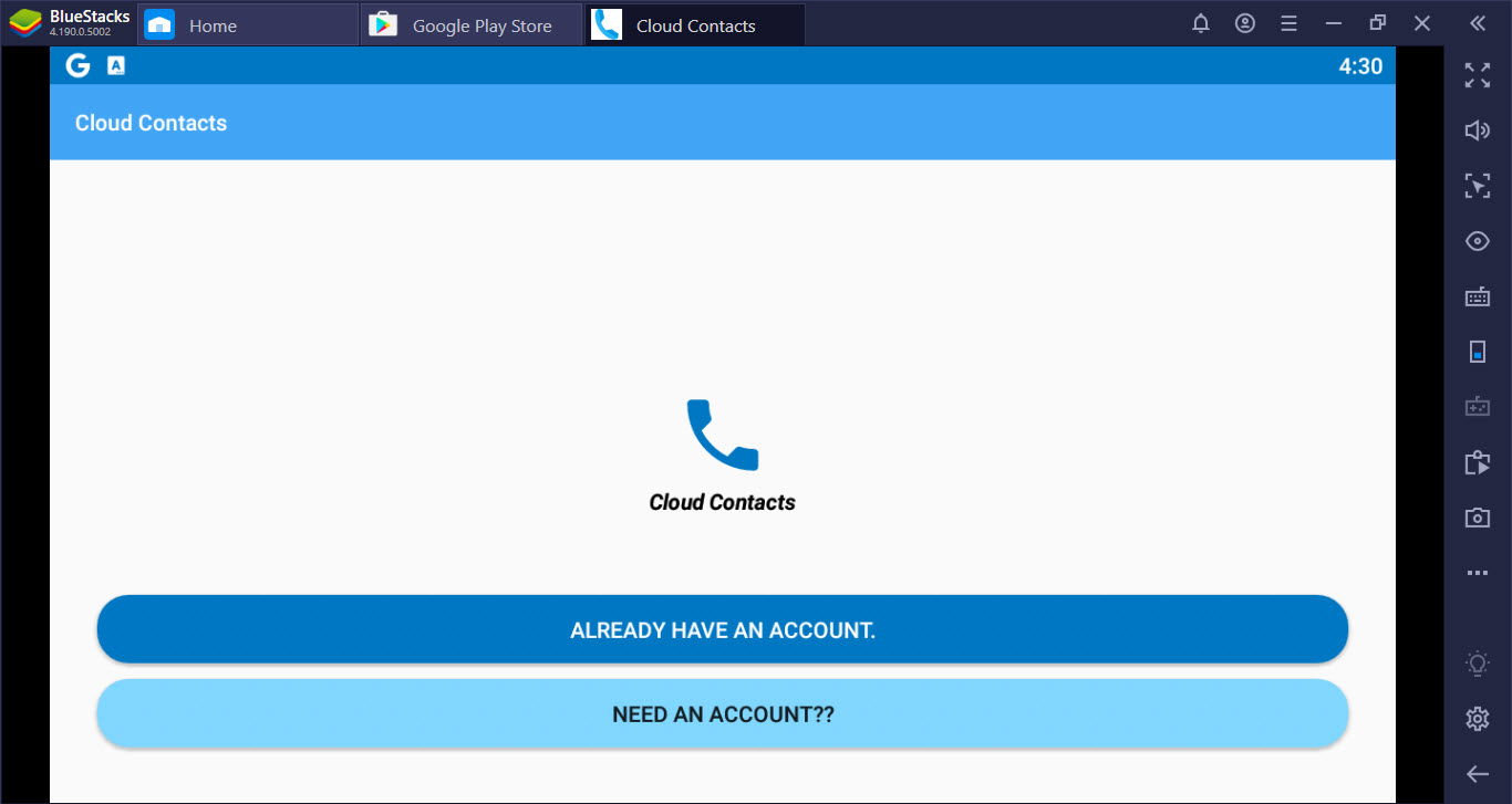 Cloud Contacts for PC