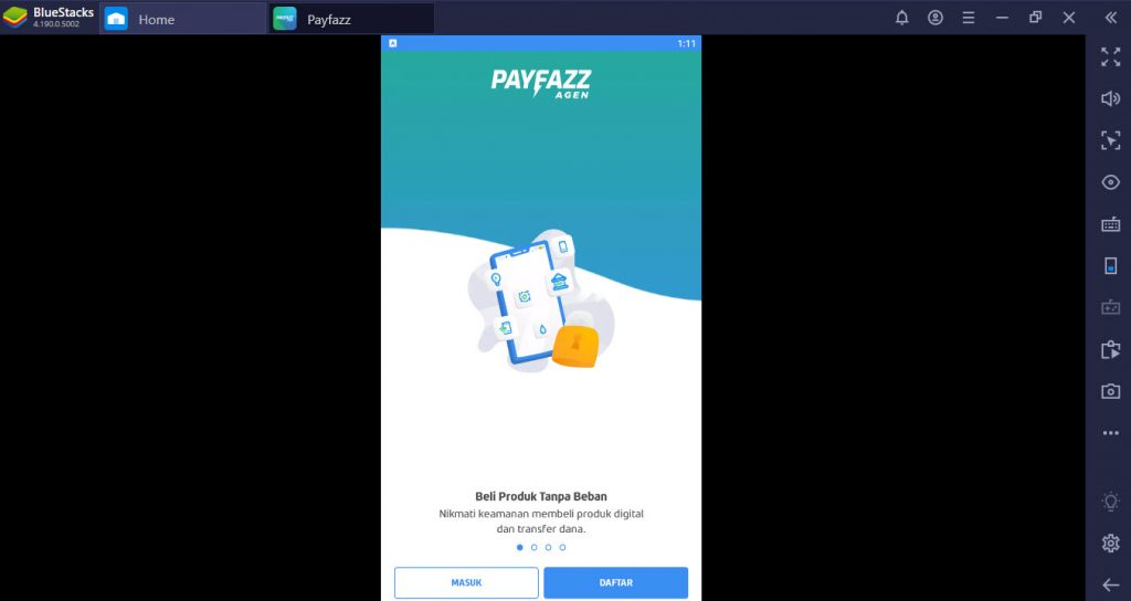 PayFazz for PC