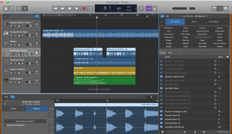 GarageBand In Windows 10