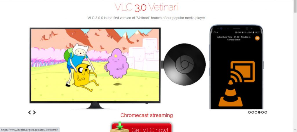 Use VLC with Chromecast