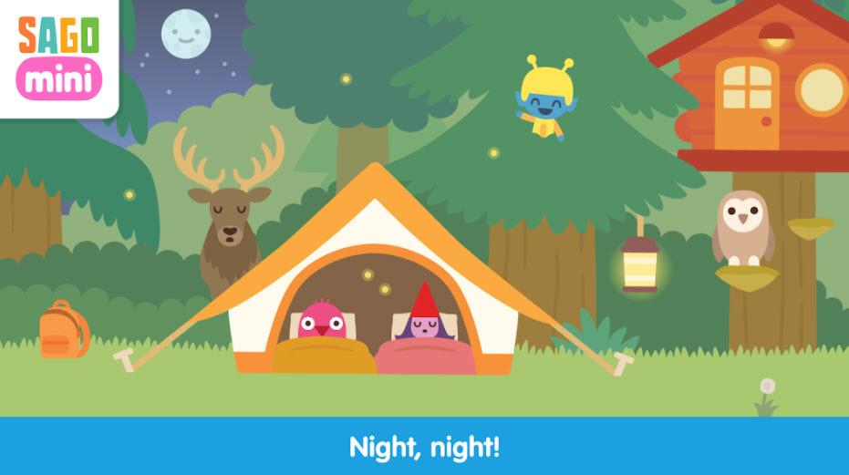 Sago mini Camping PC